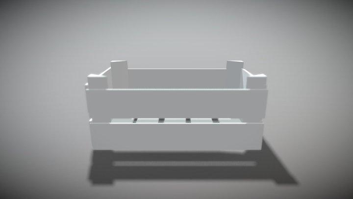 Crate FBX 3D Model