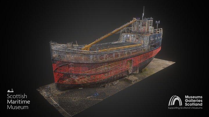 MV Spartan (Point Cloud) 3D Model