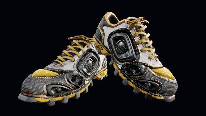 Audible Shoes 3D Model