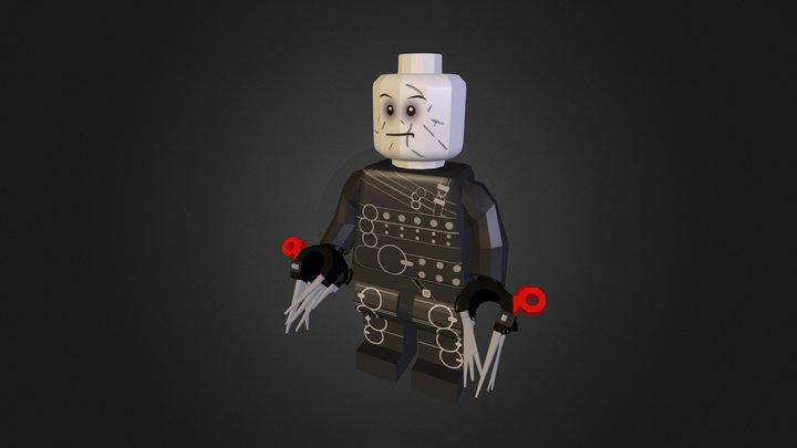 Edward Scissorhands LEGO 3D Model