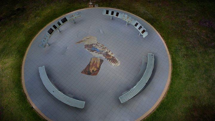 Navy Shrine 3D Model