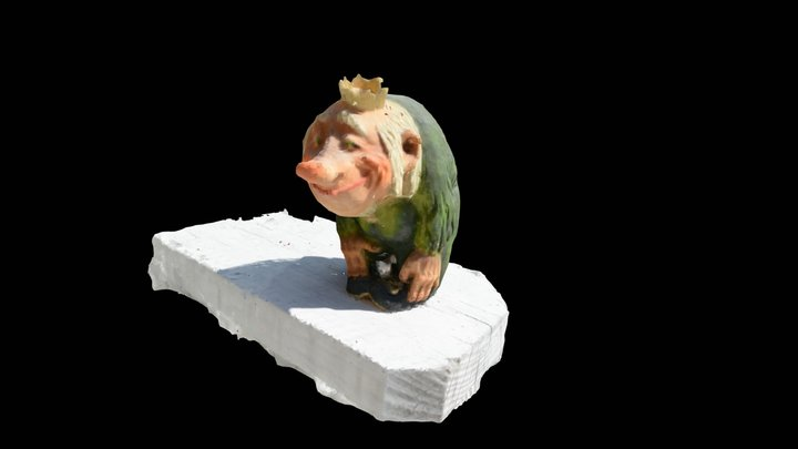 Norwegian Troll Scan - 1 3D Model