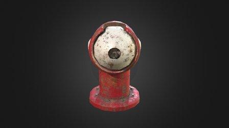 Futuristic Fire Hydrant 3D Model