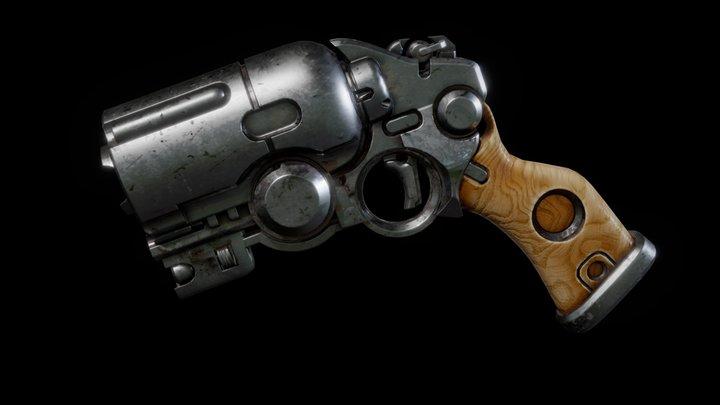 Tor Frick Gun Study 3D Model