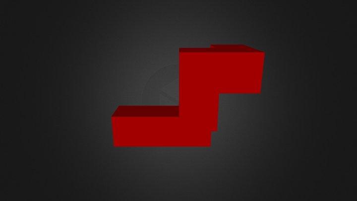 Dark Red 3D Model