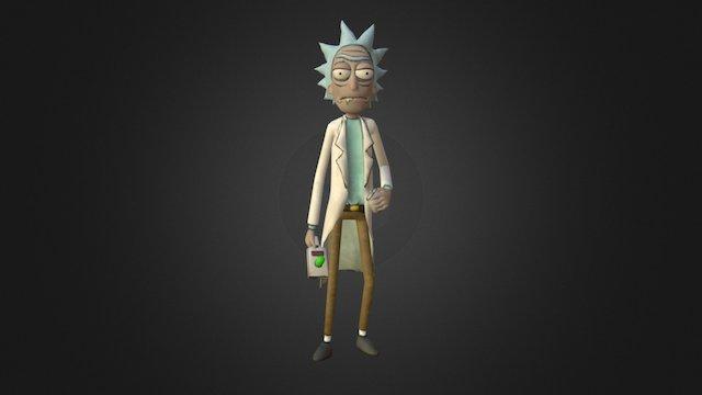 Rick (Rick and Morty) 3D Model