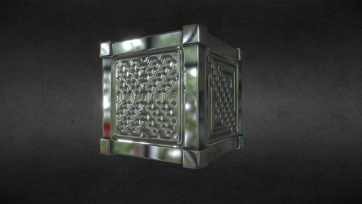 Cube - Normal map test 3D Model