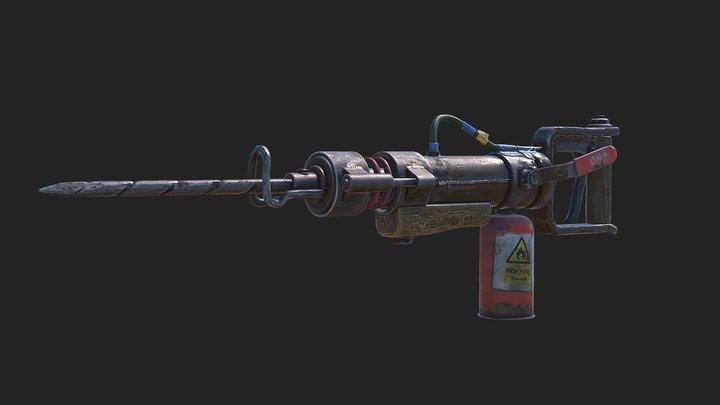 Jackhammer - Rust 3D Model
