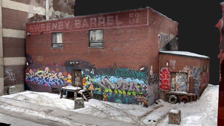 2020 - Sweeney Barrel 3D Model