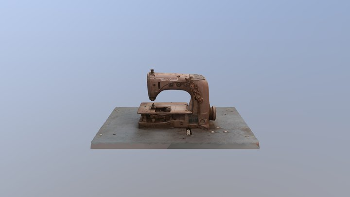 The Patch Works - Sewing Machine 3D Model