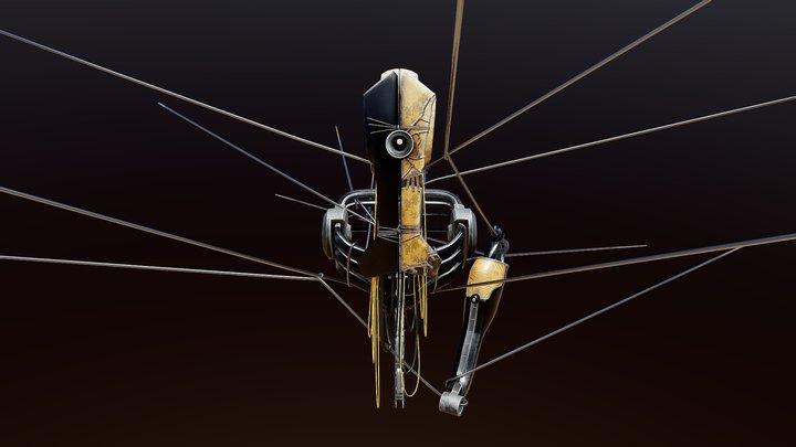 The OldMan 3D Model