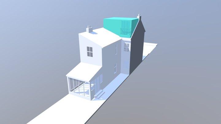 1252 - 17 St Georges Road Chiswick W4 1AU 3D Model