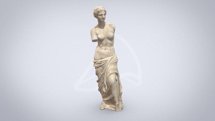 Venus de Milo sculpture 3D Model
