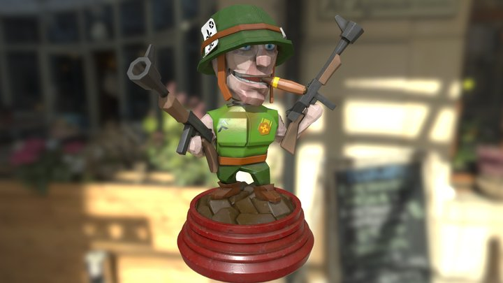 Boss Bobble 3D Model