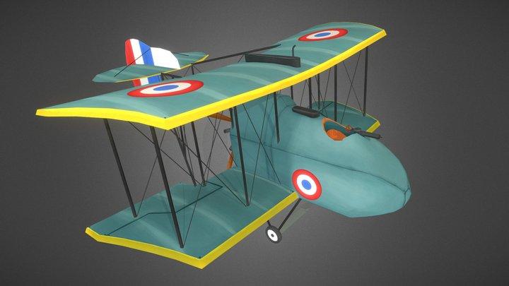 AMC DH2 (Stylized) 3D Model