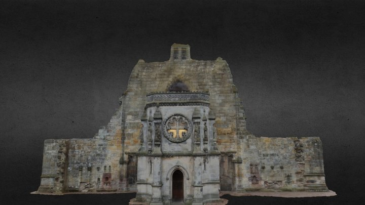 Rosslyn Chapel, Scotland 3D Model