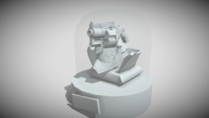 No Gun's Life 3D Model