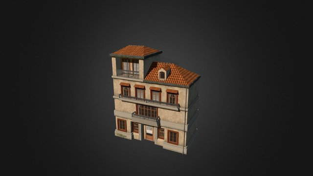 House_Library 3D Model