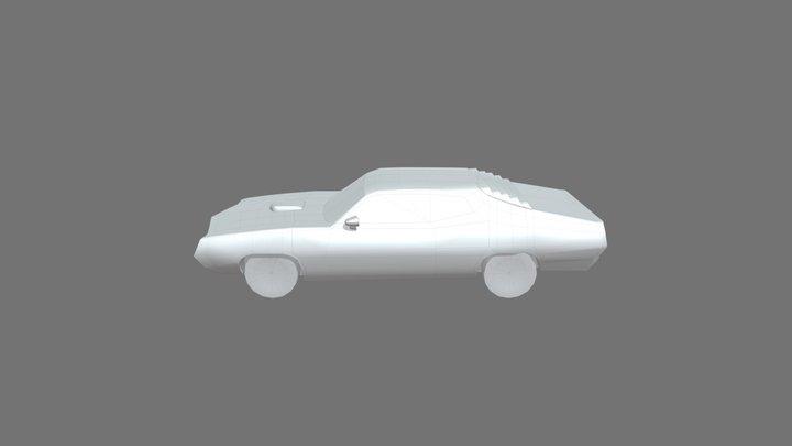 Ford Torino Cobra 1970 (Mobile Spec) 3D Model
