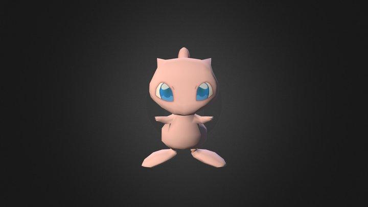 Mew 3D Model