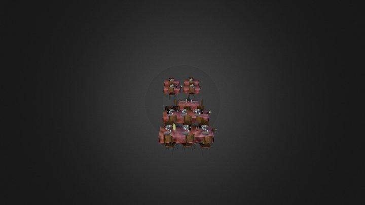 Props_Tafel 3D Model