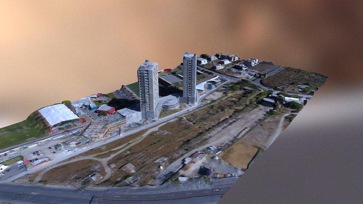 Terreno Valle Poniente 3D Model
