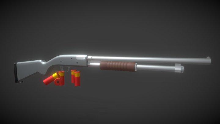 Mossberg 500 (FREE MODEL) 3D Model