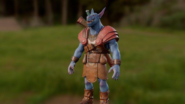Orc Ranger 3D Model