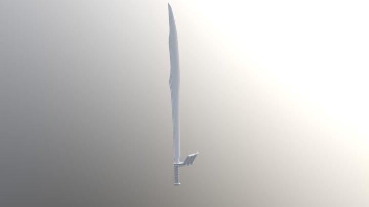 Remastered Sword 3D Model