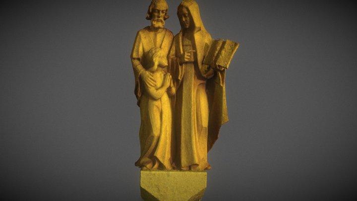Sts. Joachim & Anne by Siegfried Gross 3D Model
