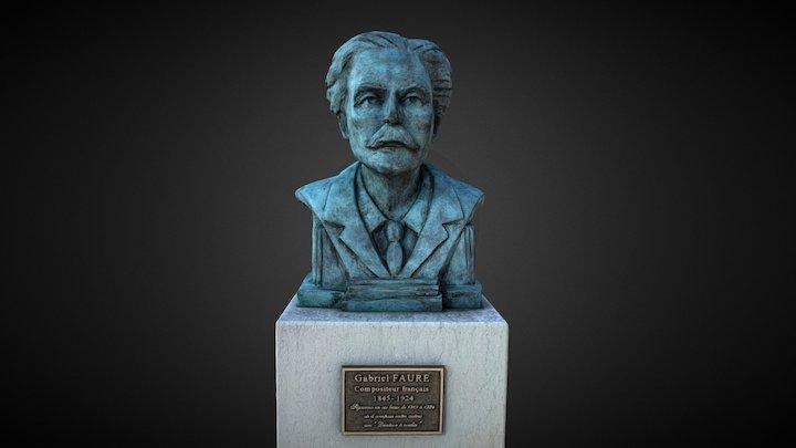 Gabriel Fauré - Annecy le Vieux 3D Model