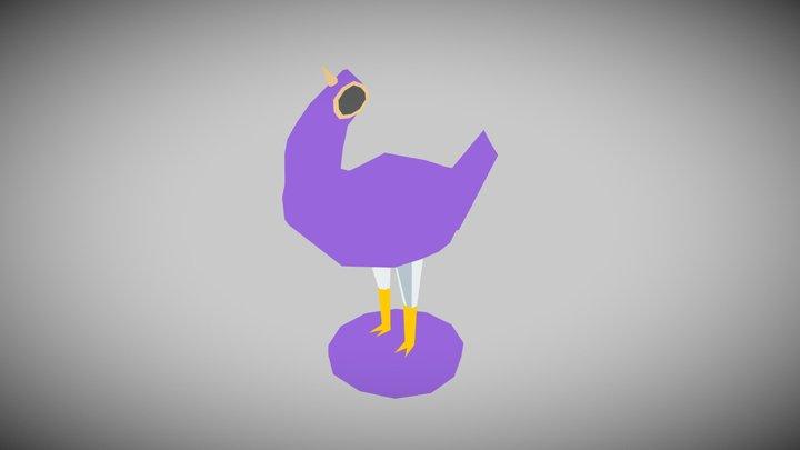 Trash Dove 3D Model