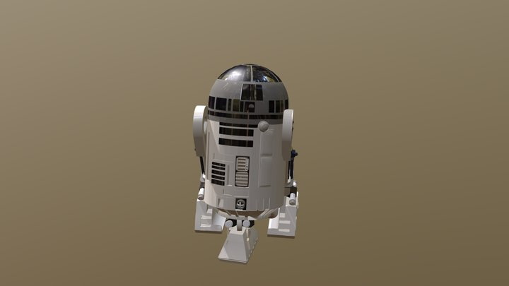 R2 Never Oh Never Leave Without Him 3D Model
