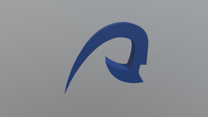 Logo 3D ULPGC 3D Model