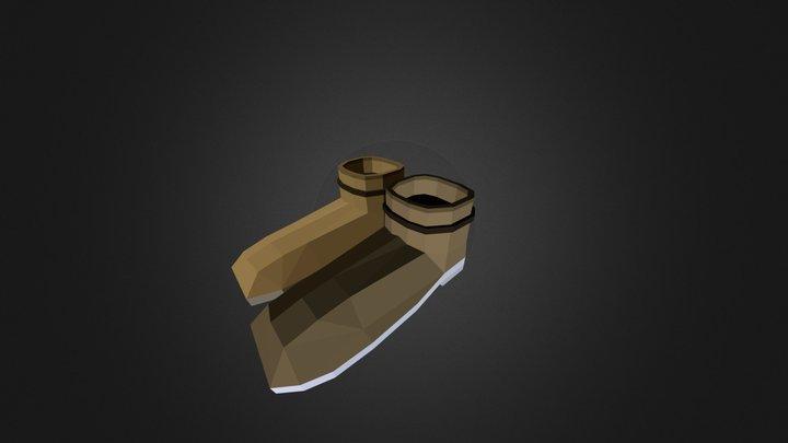 Badboots 3D Model