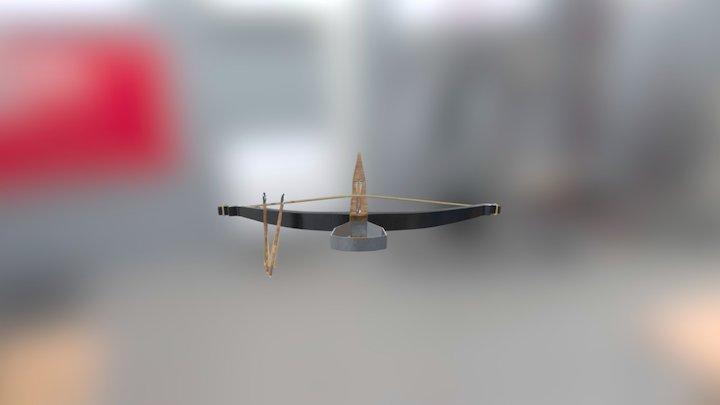Crossbow Textured 3D Model