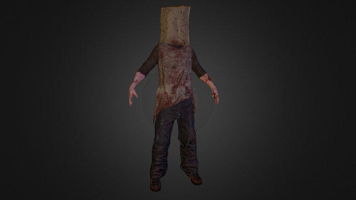 Infected 3D Model