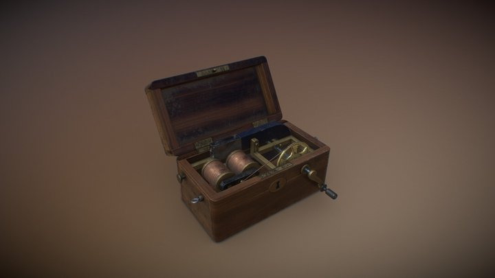 Victorian Monster lab-ShockBox 3D Model