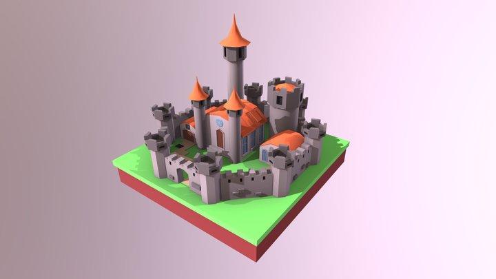 3D castle 3D Model