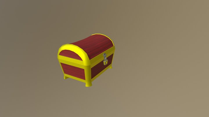 Treasure Chest (Animated) 3D Model