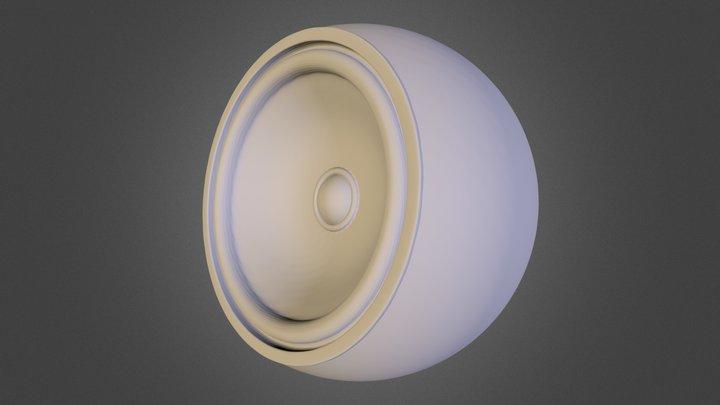Speaker Jeanxprto 3D Model
