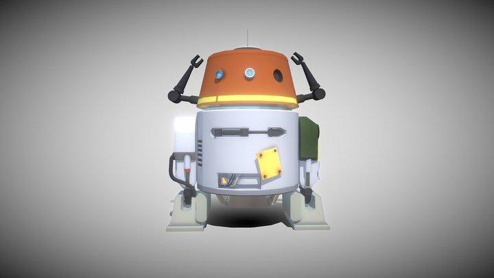 Chopper - Star Wars Rebels 3D Model