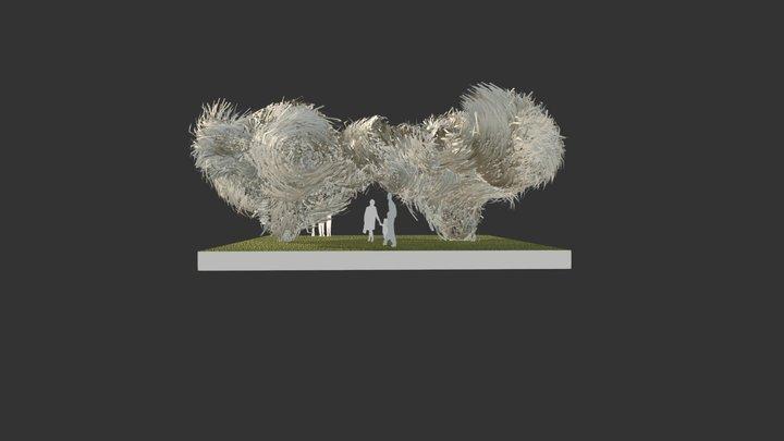 HAY FORT 3D Model