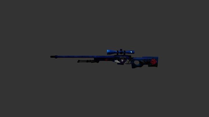 CS20 | AWP Malignant 3D Model