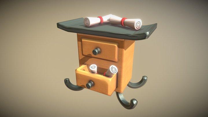 Magic Desk 3D Model