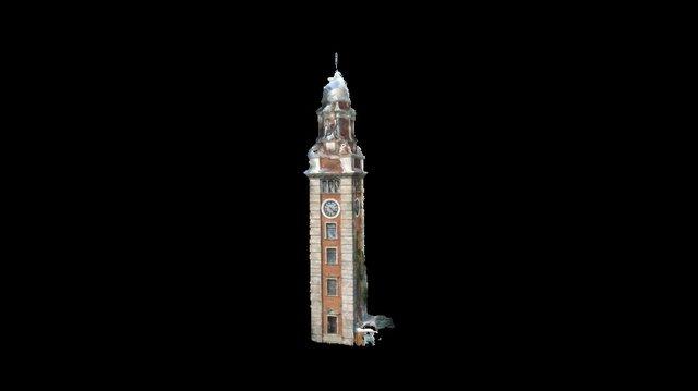 KCR Clocktower 3D Model