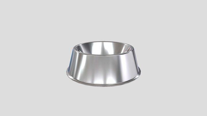 Pet Water and Food Bowl 3D Model