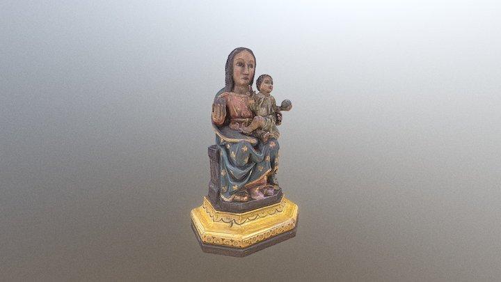 Mare de Déu de la Salut. Estado inicial 3D Model