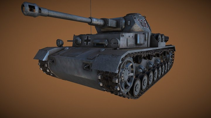 Panzer IV 3D Model