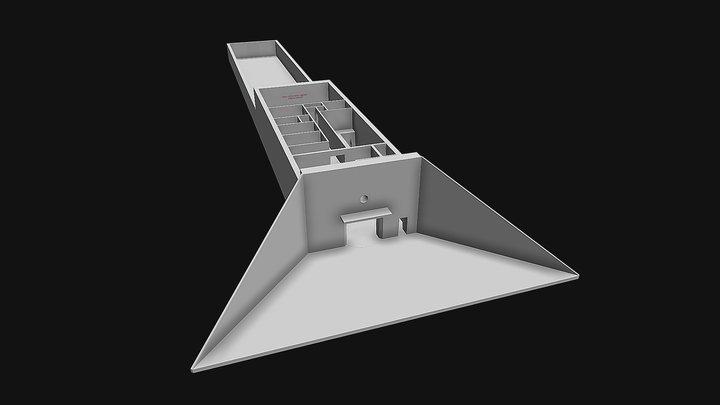 GSSD Sonderwaffenlager Brand (Bunker) 3D Model